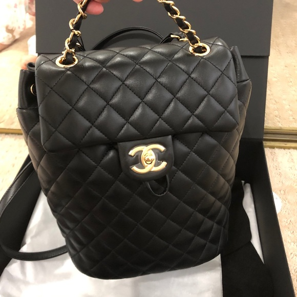 7f7d374458e3 CHANEL Bags | Soldauthentic Urban Spirit Backpack | Poshmark